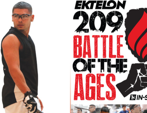 Battle of the Ages Racquetball Poster
